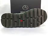 Стильні зимові шкіряні черевики під кросівки на цигейке Bertoni, фото 10
