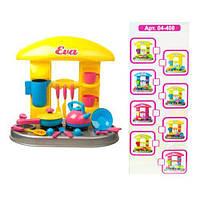 """Набор """"Кухня с аксессуарами: Ева"""" (сковородка и чайник), Kinderway, игрушки для девочек,дитяча кухня,Игрушечный набор посуды"""