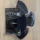 Антибактериальная маска pitta mask (питта) многоразовая угольная в упаковке 3 шт, фото 4