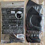 Антибактериальная маска pitta mask (питта) многоразовая угольная в упаковке 3 шт, фото 8