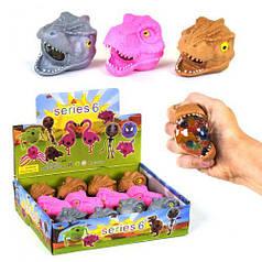 """Игра антистресс """"Динозавр"""" с гидрогелевыми шариками"""