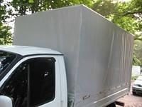 Тент на Газель из ПВХ ткани (пл. 650 г/м2, цвет серый). Изготовление под заказ в Харькове.