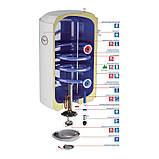 Комбинированный водонагреватель Aquahot 100 л левый, мокрый ТЭН 142612070115061, фото 4