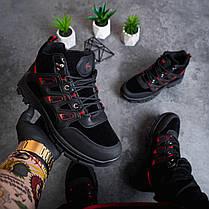 Мужские ботинки Гамми БО-бо черные с красным, фото 2