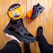 Мужские ботинки Гамми БО-бо черные с красным, фото 3