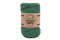 Эко шнур Macrame Rope 4mm, цвет Нефрит