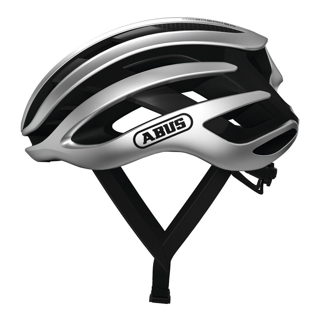 Шолом велосипедний ABUS AIRBREAKER L 59-61 Gleam Silver
