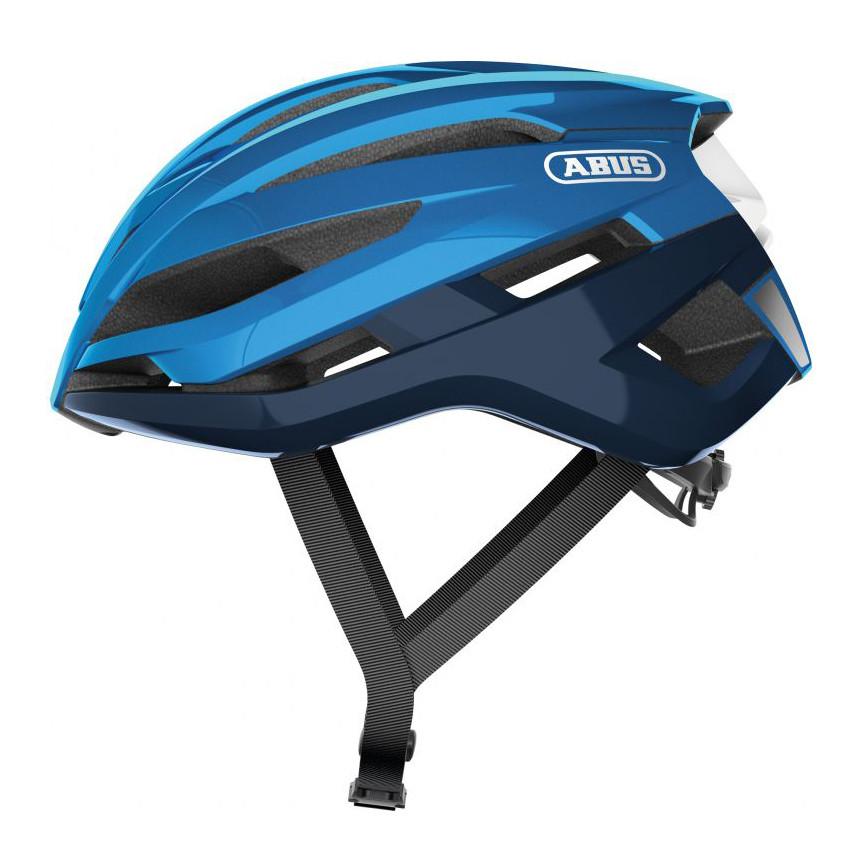 Шолом велосипедний ABUS StormChaser M 52-58 Steel Blue