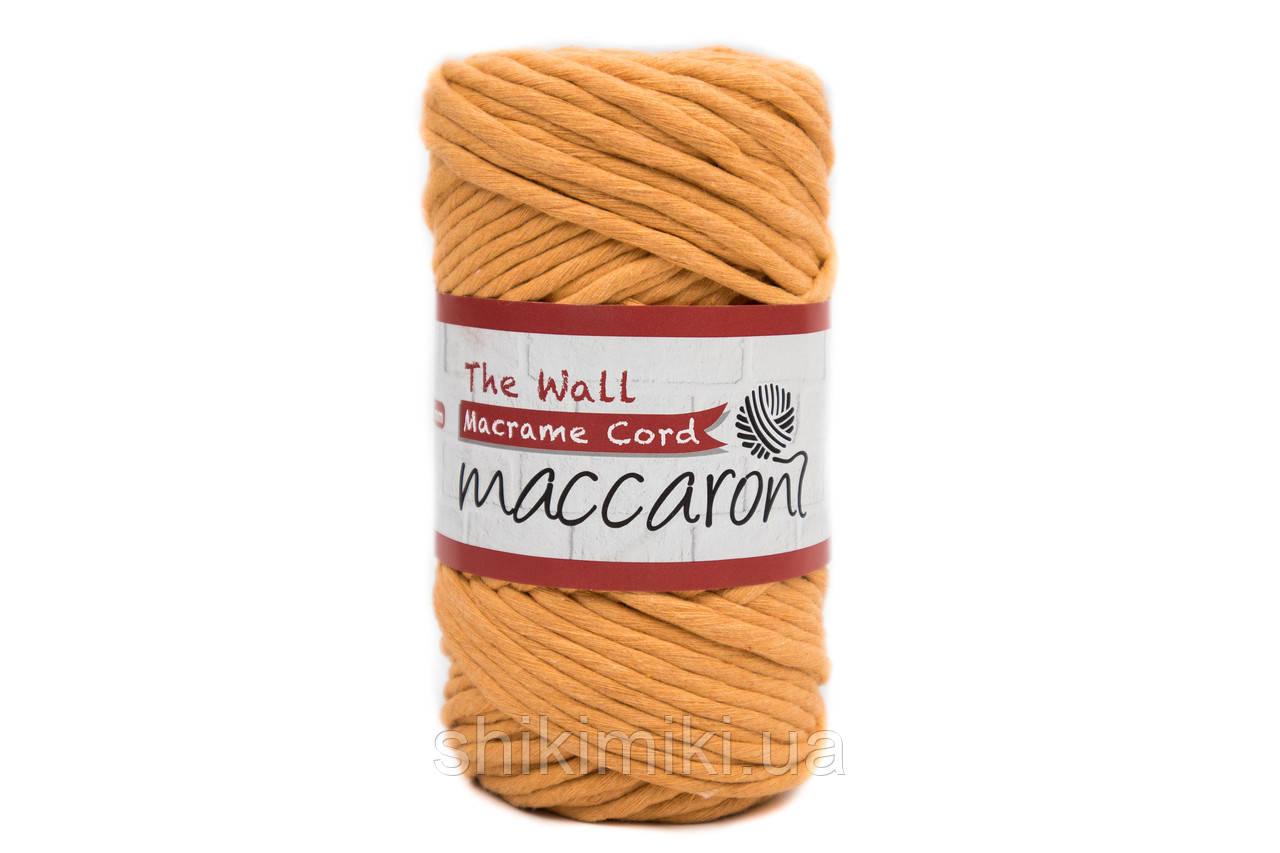 Эко шнур Macrame Cord 3 mm, цвет Апельсин