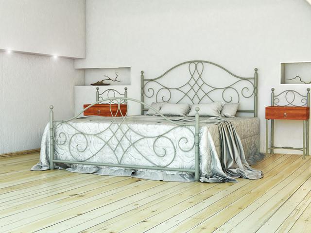 Кровати металл