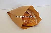 Бумажные пакеты для хлеба саше бурые 160*70*330