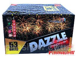 Фейерверк DAZZLE 53 выстрелов 25 калибр | Салют MC117