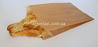 Бумажные пакеты саше для еды бурые 220*60*390