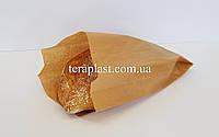 Бумажные пакеты саше для продуктов бурые 70*40*160