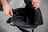 Рюкзак чоловічий шкіряний міської чорний RGB-23, фото 10