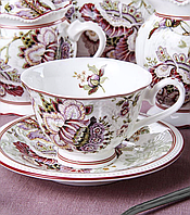 """Порцеляновий чайний набір """"Прімавера"""" Lefard 586-114"""