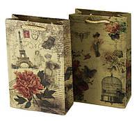 Пакет подарунковий PVCP111805 паперовий 11х18х5см 170г/м2 уп12