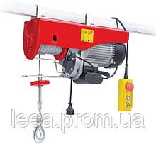 Тельфер (лебедка электрическая) Intertool - 250/500 кг x 6/12 м (GT1482)