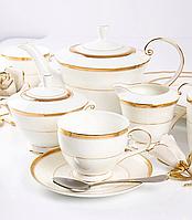 Сервіз чайний фарфоровий на 6 персон Летиція 264-664