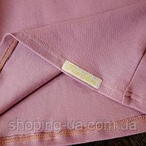 Водолазка - гольф рибана светло фиолетовый Five Stars KD0395-98p, фото 3