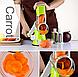Овощерезка мультислайсер для овощей и фруктов Kitchen Master, фото 5