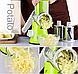 Овощерезка мультислайсер для овощей и фруктов Kitchen Master, фото 3
