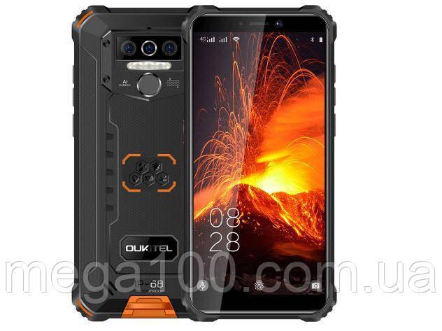 Смартфон OUKITEL WP5 pro колір помаранчевий (екран 5.5 дюймів; пам'яті 4/64; ємність акб 8000mAh)