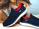 Мужские кроссовки Puma R  синие 43 р., фото 3