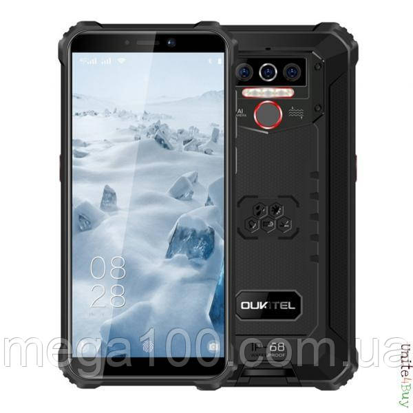 Смартфон OUKITEL WP5 pro колір чорний (екран 5.5 дюймів; пам'яті 4/64; ємність акб 8000mAh)