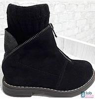 Детские ботинки для девочки Bistfor.