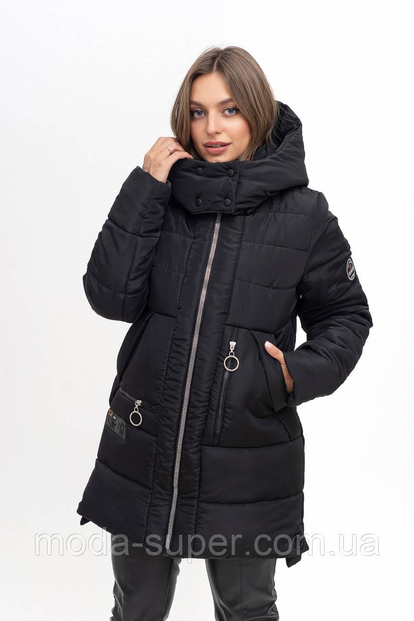 Зимняя удобная курточка рр 46-58