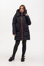 Зимняя куртка полуприталенного силуэта рр 46-56, фото 3