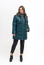 Женская куртка из эко-кожи рр 50-56, фото 3