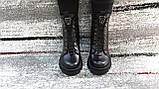 Модные женские демисезонные черные ботинки из натуральной кожи. Размер 36-41., фото 2