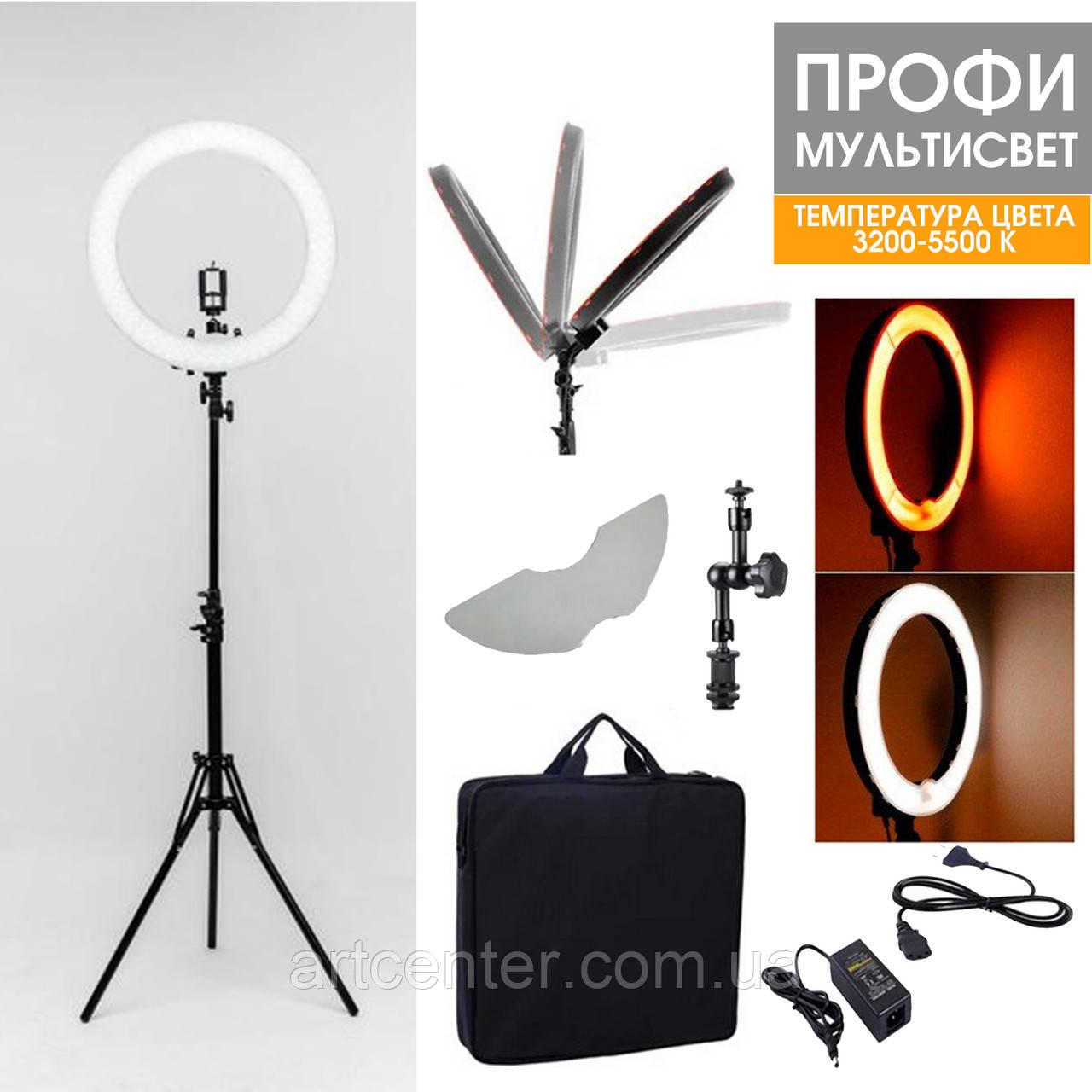 Лампа світлодіодна для візажиста, лампа для фотографа (модель Мультисвет ПРОФІ LED)