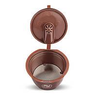 Многоразовая улучшенная пластиковая капсула Crema для кофеварки Krups Nescafe Dolce Gusto Нескафе Дольче Густо