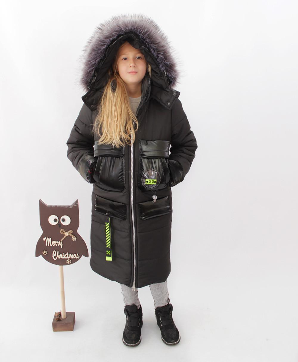 Пальто подростковое  для девочек на зиму. Новинка.