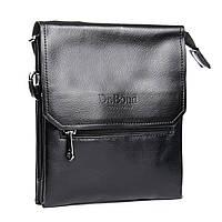 Мужская сумка-планшет кожаный клапан DR.BOND опт/розница
