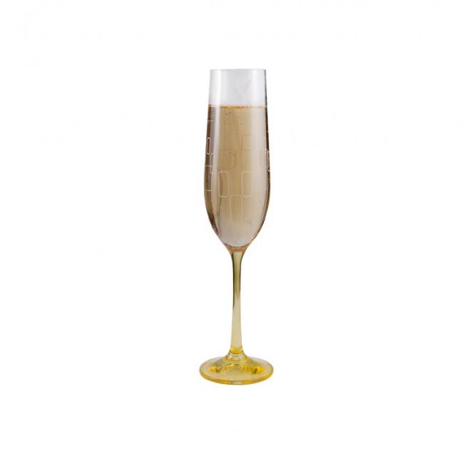 Бокалы для шампанского Bohemia Viola Rainbow 40729/190S/K0568 190 мл 6 шт