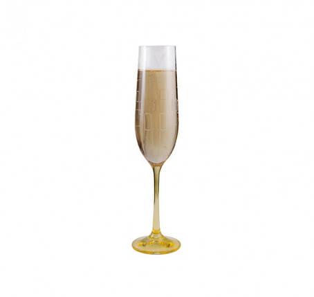Бокалы для шампанского Bohemia Viola Rainbow 40729/190S/K0568 190 мл 6 шт, фото 2