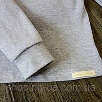 Водолазка - гольф рибана серый Five Stars KD0389-104p, фото 2