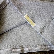 Водолазка - гольф рибана серый Five Stars KD0389-104p, фото 3