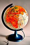 Глобус с подсветкой 250 политико-физический (рус.) BST 540088, фото 2