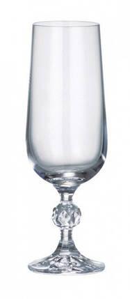 Бокалы для шампанского Bohemia Klaudie 4S149/00000/180 180 мл 6 шт, фото 2