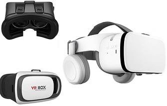 D і VR очки