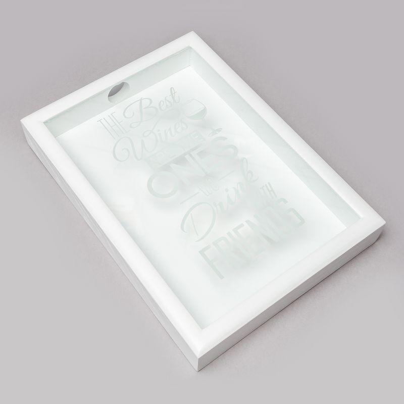 Копилка для винных пробок BST PRK-36 38х28 см. The best белая