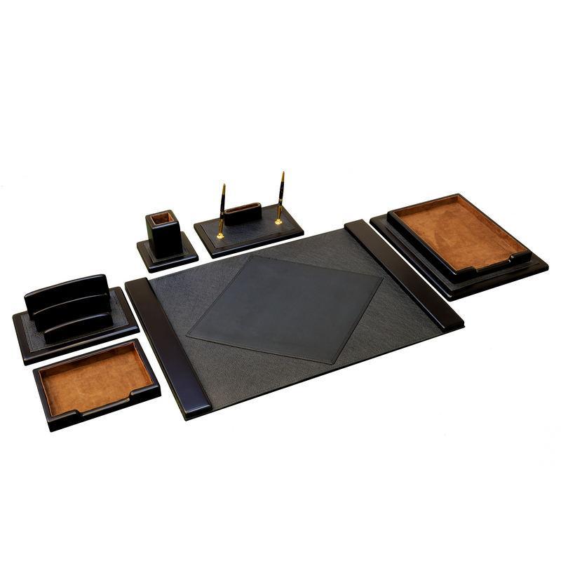 Настольный набор BST 760001 55*45 см чёрный КАРЬЕРА