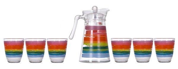 Комплект для напоїв Luminarc COLOR PENCIL N0792 7 предметів