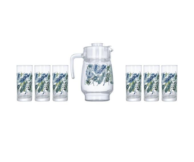 Комплект для напитков Luminarc ATROPICAL FOLIAGE P4821 7 предметов