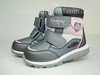 Зимние термо ботинки B&G. Размер 32., фото 1